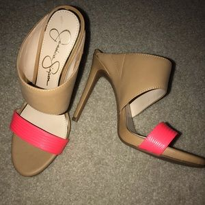 Jessica Simpson Heels EUC